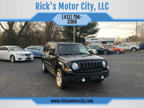 2013 Jeep Patriot for sale at Rick's Motor City, LLC in Springfield MA