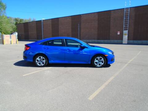 2017 Honda Civic for sale at Smart Buy Auto Sales in Ogden UT