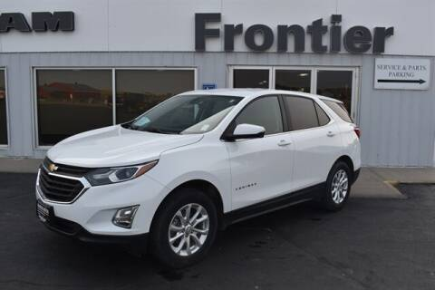 2018 Chevrolet Equinox for sale at Frontier Motors Automotive, Inc. in Winner SD