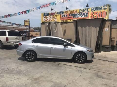 2014 Honda Civic for sale at DEL CORONADO MOTORS in Phoenix AZ