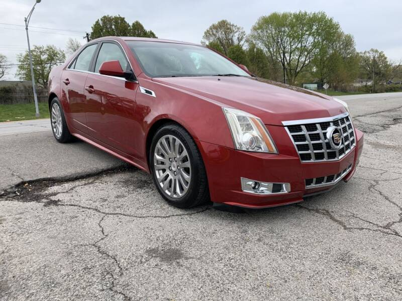 2013 Cadillac CTS for sale at InstaCar LLC in Independence MO
