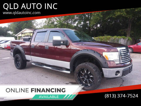 2009 Ford F-150 for sale at QLD AUTO INC in Tampa FL