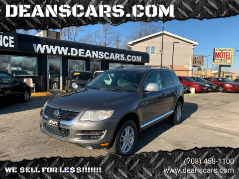 2010 Volkswagen Touareg for sale at DEANSCARS.COM in Bridgeview IL