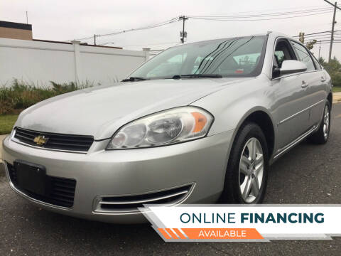 2006 Chevrolet Impala for sale at New Jersey Auto Wholesale Outlet in Union Beach NJ