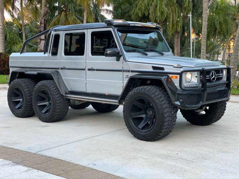 2017 Mercedes-Benz G-Class for sale at South Florida Jeeps in Fort Lauderdale FL