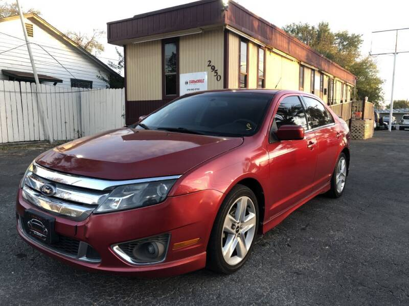 2010 Ford Fusion for sale at CARS FROM US LLC in San Antonio TX