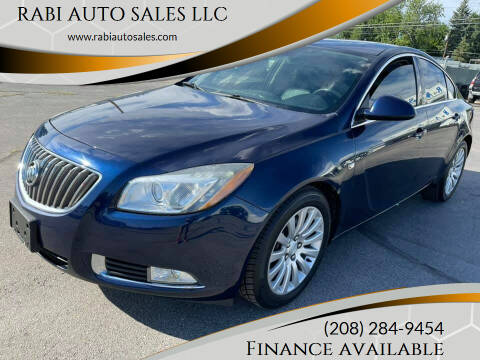2011 Buick Regal for sale at RABI AUTO SALES LLC in Garden City ID
