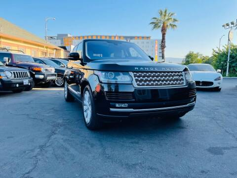 2016 Land Rover Range Rover for sale at Ronnie Motors LLC in San Jose CA