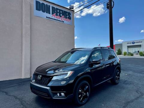 2021 Honda Passport for sale at Don Reeves Auto Center in Farmington NM
