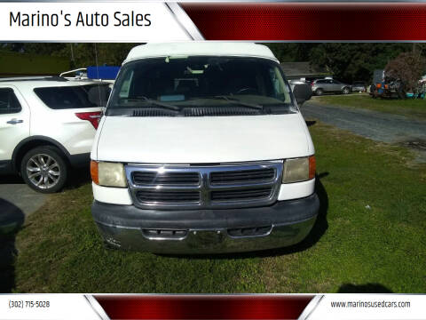 1998 Dodge Ram Van for sale at Marino's Auto Sales in Laurel DE