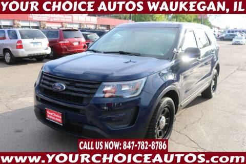 2016 Ford Explorer for sale at Your Choice Autos - Waukegan in Waukegan IL
