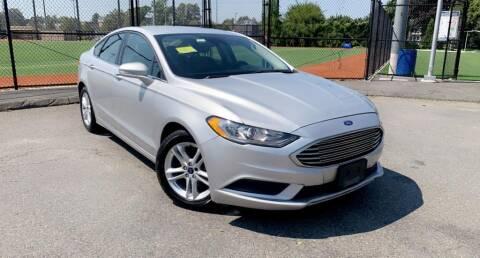 2018 Ford Fusion for sale at Maxima Auto Sales in Malden MA