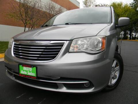 2013 Chrysler Town and Country for sale at Dasto Auto Sales in Manassas VA