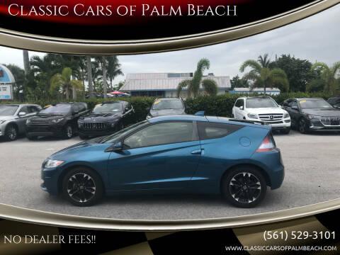 2015 Honda CR-Z for sale at Classic Cars of Palm Beach in Jupiter FL