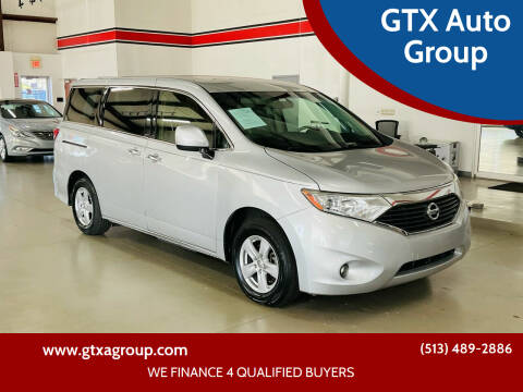 2015 Nissan Quest for sale at GTX Auto Group in West Chester OH