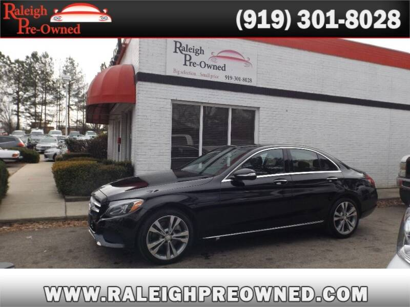2015 Mercedes-Benz C-Class for sale at Raleigh Pre-Owned in Raleigh NC