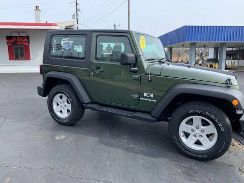 2008 Jeep Wrangler for sale at Clarks Auto Sales in Connersville IN