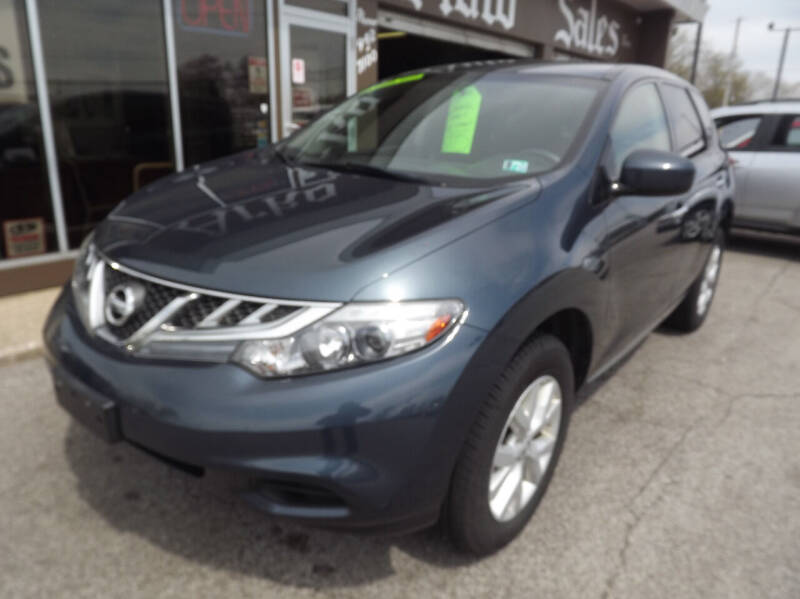 2012 Nissan Murano for sale at Arko Auto Sales in Eastlake OH