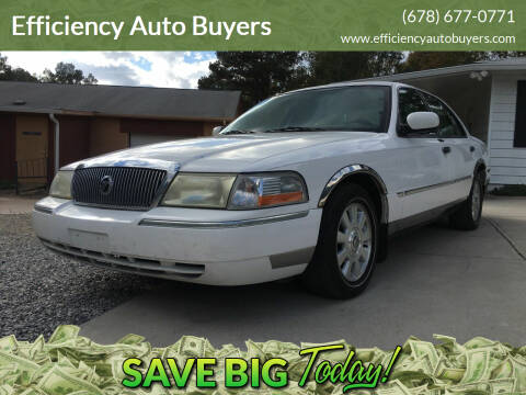 2005 Mercury Grand Marquis for sale at Efficiency Auto Buyers in Milton GA