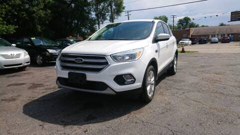 2017 Ford Escape for sale at Lamarina Auto Sales in Dearborn Heights MI