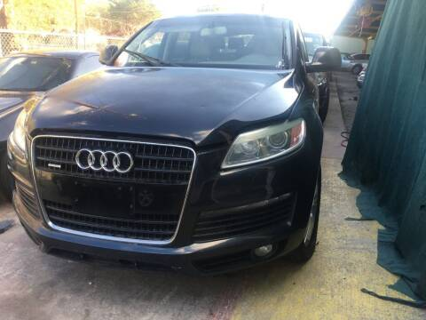2009 Audi Q7 for sale at Carzready in San Antonio TX