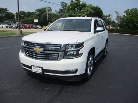 2017 Chevrolet Tahoe for sale at Triangle Auto Sales in Elgin IL