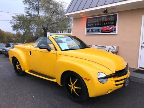 2004 Chevrolet SSR for sale at DEALZ ON WHEELZ in Winchester VA