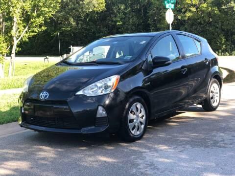 2012 Toyota Prius c for sale at L G AUTO SALES in Boynton Beach FL