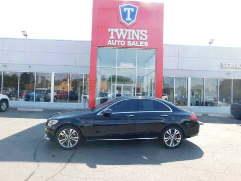 2018 Mercedes-Benz C-Class for sale at Twins Auto Sales Inc Redford 1 in Redford MI