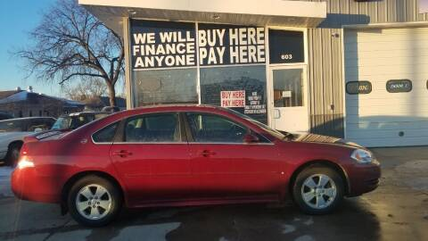 2009 Chevrolet Impala for sale at STERLING MOTORS in Watertown SD