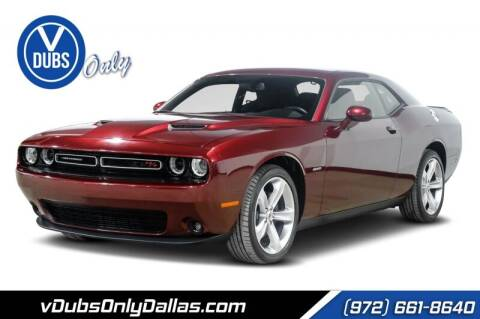 2018 Dodge Challenger for sale at VDUBS ONLY in Dallas TX