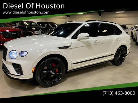 2021 Bentley Bentayga for sale at Diesel Of Houston in Houston TX