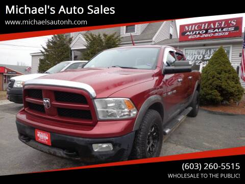 2011 RAM Ram Pickup 1500 for sale at Michael's Auto Sales in Derry NH
