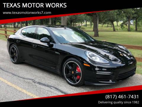2016 Porsche Panamera for sale at TEXAS MOTOR WORKS in Arlington TX