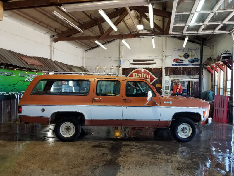 1975 Chevrolet Suburban for sale at Cool Classic Rides in Redmond OR