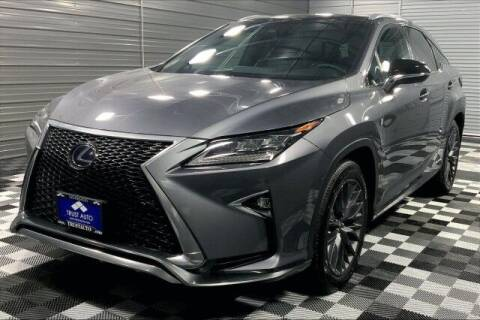 2017 Lexus RX 450h for sale at TRUST AUTO in Sykesville MD