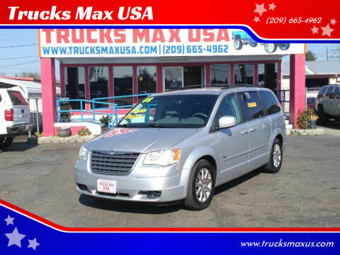 2008 Chrysler Town and Country for sale at Trucks Max USA in Manteca CA