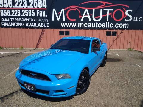 2014 Ford Mustang for sale at MC Autos LLC in Pharr TX