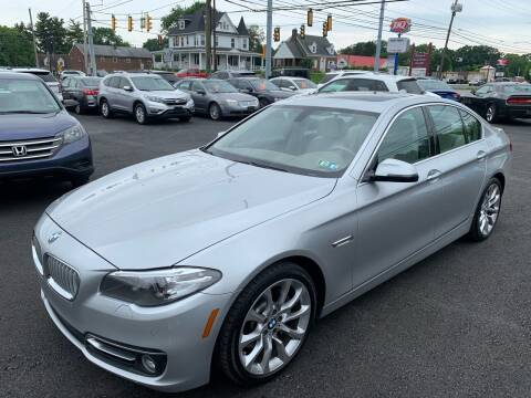 2014 BMW 5 Series for sale at Masic Motors, Inc. in Harrisburg PA