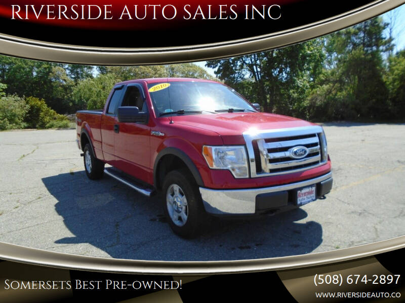 2010 Ford F-150 for sale at RIVERSIDE AUTO SALES INC in Somerset MA