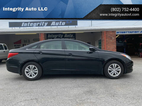2011 Hyundai Sonata for sale at Integrity Auto LLC in Sheldon VT