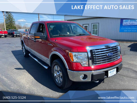 2010 Ford F-150 for sale at Lake Effect Auto Sales in Chardon OH