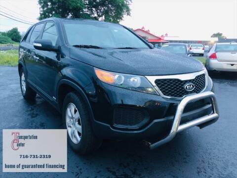 2013 Kia Sorento for sale at Transportation Center Of Western New York in Niagara Falls NY