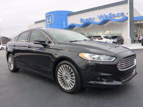 2014 Ford Fusion for sale at RUSTY WALLACE HONDA in Knoxville TN