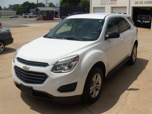 2016 Chevrolet Equinox for sale at PERL AUTO CENTER in Coffeyville KS