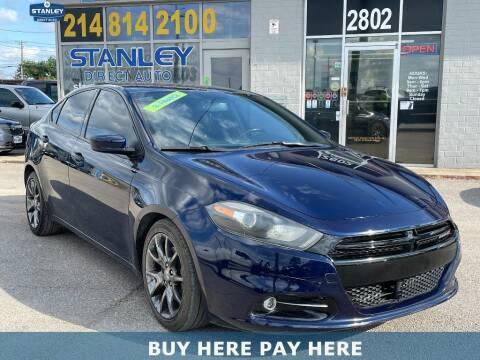 2014 Dodge Dart for sale at Stanley Automotive Finance Enterprise - STANLEY DIRECT AUTO in Mesquite TX