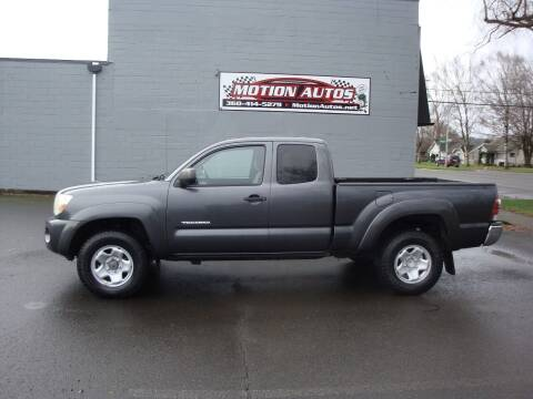 2009 Toyota Tacoma for sale at Motion Autos in Longview WA