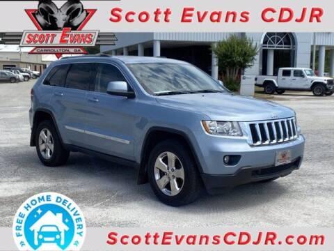 2013 Jeep Grand Cherokee for sale at SCOTT EVANS CHRYSLER DODGE in Carrollton GA