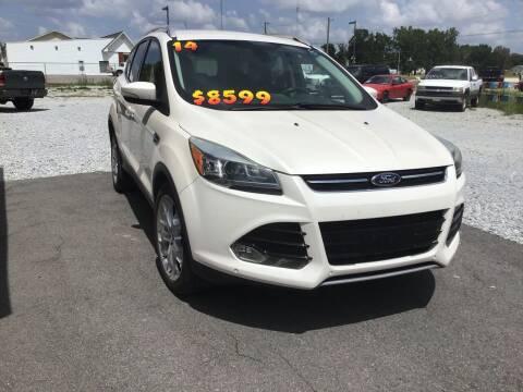 2014 Ford Escape for sale at K & E Auto Sales in Ardmore AL