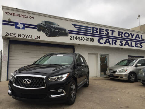 2016 Infiniti QX60 for sale at Best Royal Car Sales in Dallas TX